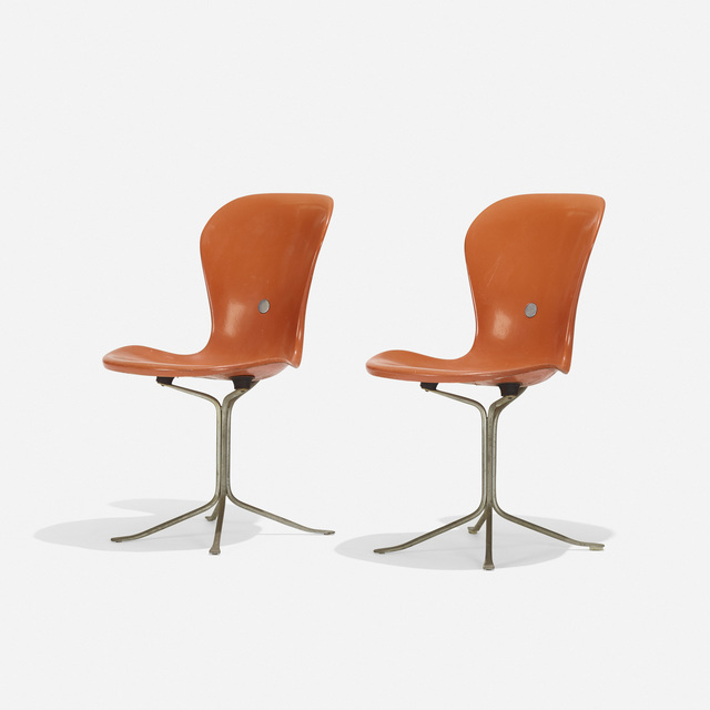 SOLD Ion chairs designed by Gideon Kramer