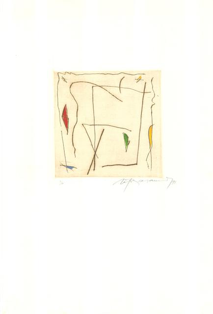 Albert Ràfols-Casamada, 'Estels 5', 1991, Sylvan Cole Gallery