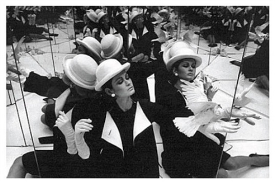 , 'Isabella + Doves + Mirrors, Paris,' 1963, Lumiere Brothers Gallery