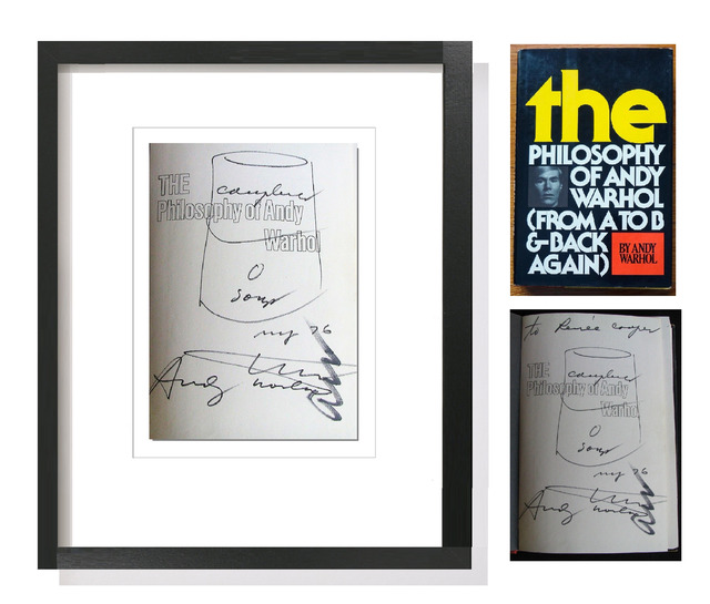 """Andy Warhol, '""""Campbells Soup Can"""",  1976, Drawing, Signed Twice, UNIQUE', 1976, VINCE fine arts/ephemera"""