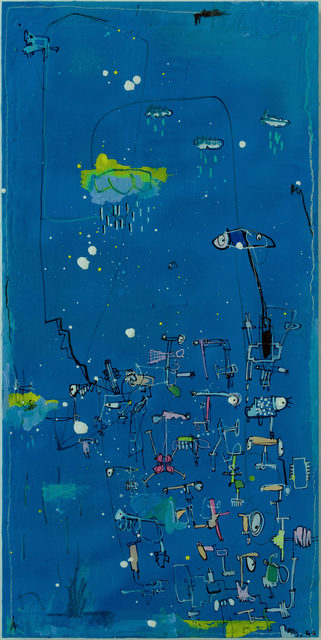 , 'Caligrafia 1,' 2016, Allouche Gallery