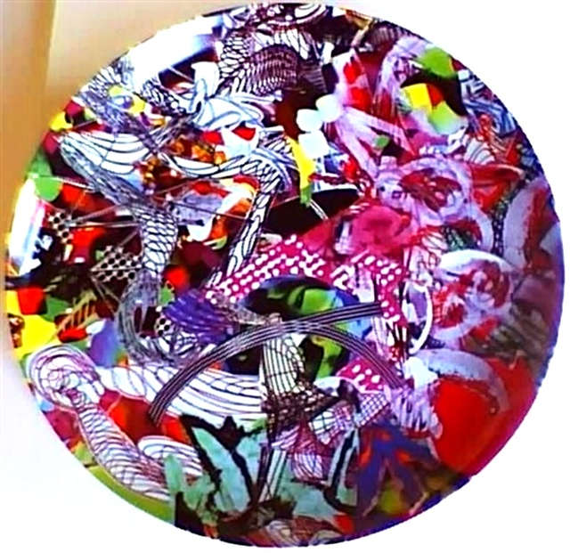 """Frank Stella, 'Limited Edition signed Porcelain Charger Plate, """"Euphonia""""', 1997, Alpha 137 Gallery"""