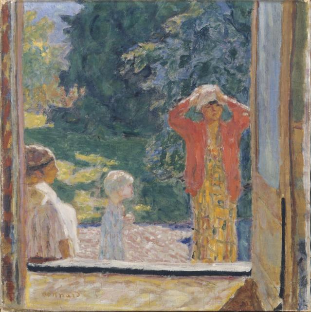 Pierre Bonnard, 'Outside the Window', 1923, ARS/Art Resource