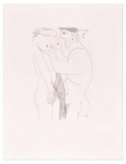 Pablo Picasso, 'Le Goût du Bonheur - 8.10.64 II - After P. Picasso', 1998, Wallector