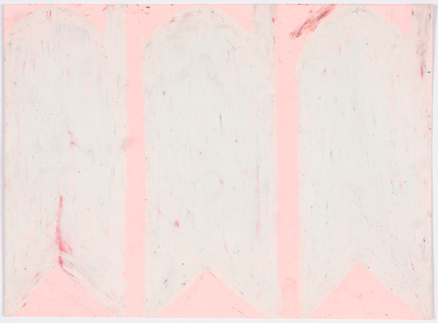 Evelyn Reyes, 'Carrots, White (Same on Pink)', 2004-2009, Creativity Explored