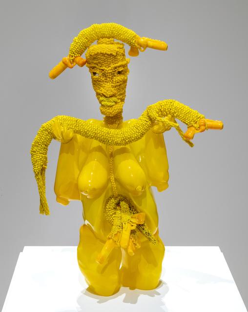 Joyce J. Scott, 'Gun Woman', 2019, Goya Contemporary/Goya-Girl Press