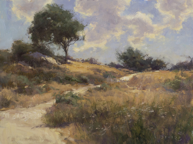 Donald W. Demers, 'Path to the Sky, Laguna Canyon', 21st Century, Painting, Oil on mounted linen, Vose Galleries