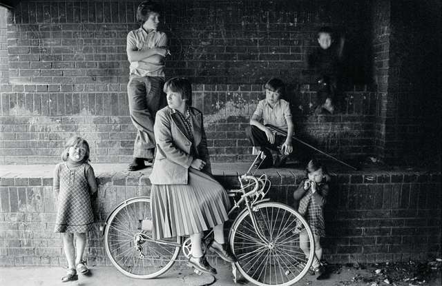 , 'Group of kids in Divis flats, West Belfast,' 1978, The Photographers' Gallery