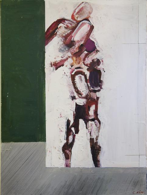 Carl Kohler, 'Petruska Alone (Ballet painting based on the dancer Nijinsky)', ca. 1995, Carl Kohler Estate