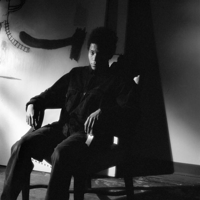 , 'Jean-Michel Basquiat, studio, NYC,' 1985, Collezione Maramotti