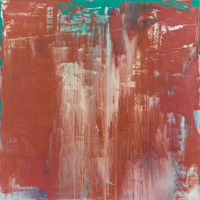 , 'Composition Red 14 - 20,' 2014, CYNTHIA-REEVES