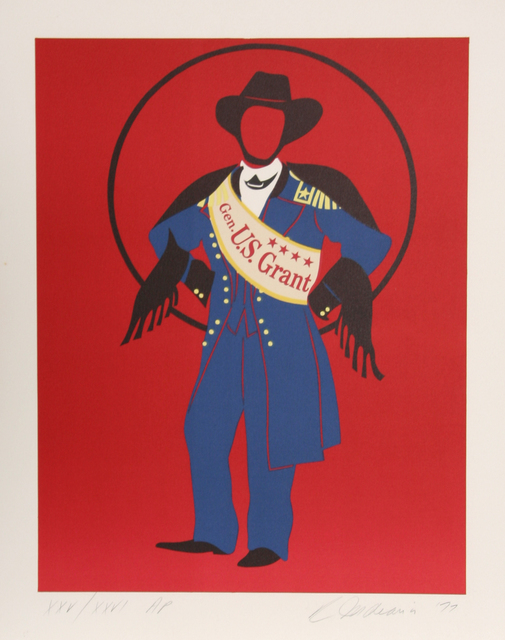 Robert Indiana, 'General Ulysses S. Grant from Mother of Us All', 1977, RoGallery