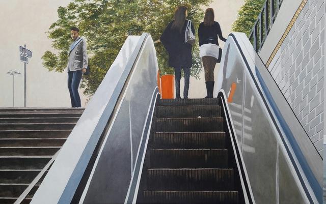 Tony Blomme, ' Stairway to Heaven (Parijs)', 2018, Online Galerij