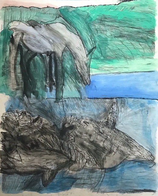 , 'The Horse and the Whale,' 2018, Land Gallery/NAP Projects