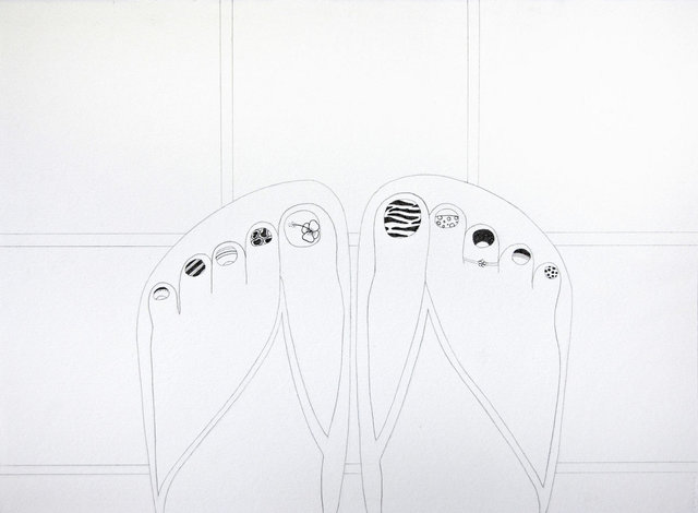 , 'Untitled (Toes),' 2015, Lois Lambert Gallery