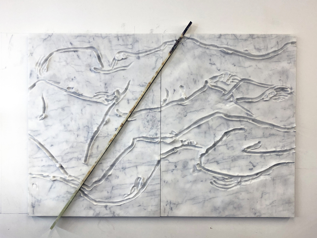 , 'Marble Panel (Reclining Nudes),' 2018, Andersen's