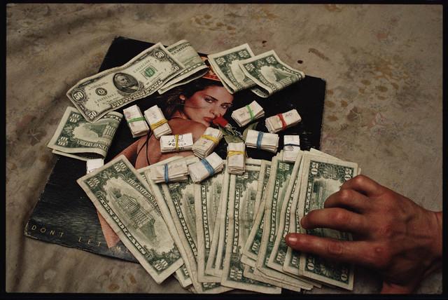 , 'Heroin and Money, Spanish Harlem, NY,' 1987, Hardhitta Gallery