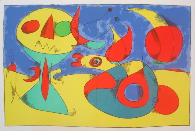 Joan Miró, 'Zephir Vogel - Zephyr Bird', 1956, Artsnap