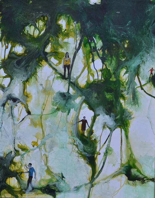 , 'Paysages, canopée citadine IV,' 2014, Ed Cross Fine Art