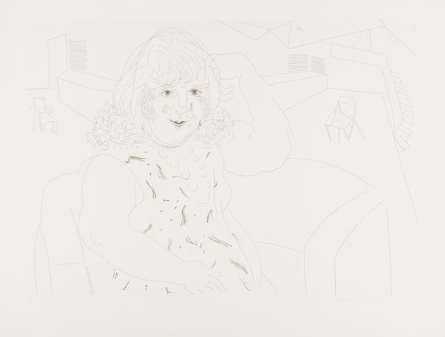 David Hockney, 'Ann in the Studio (Tokyo 258)', 1984, Forum Auctions