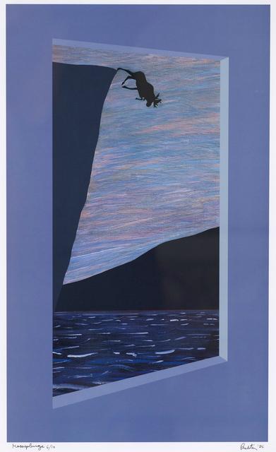 , 'Moose Plunge ,' 1986, Caviar20
