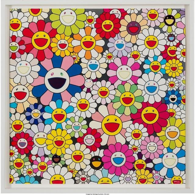 Takashi Murakami, 'Such Cute Flowers ', 2010, Lougher Contemporary