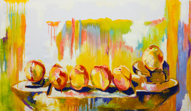 , 'Pontoon of Peaches,' 2017, Art Collection NYC
