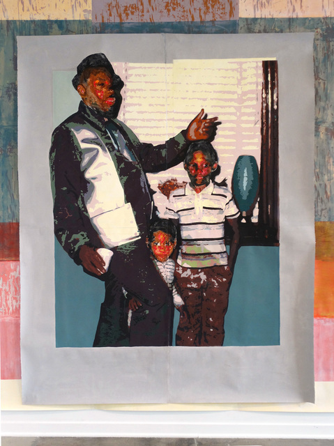 , 'Father and Sons,' 2018, Simone DeSousa Gallery