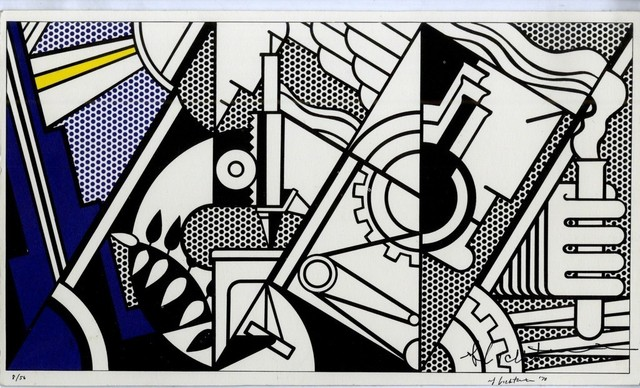 Roy Lichtenstein, 'Signed and Numbered Silkscreen on Card', 1970, Alpha 137 Gallery Auction