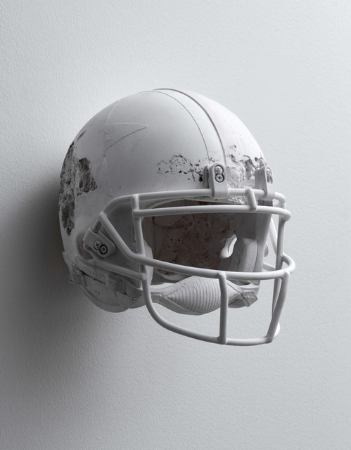 , 'Quartz Football Helmet,' 2019, Galerie Ron Mandos
