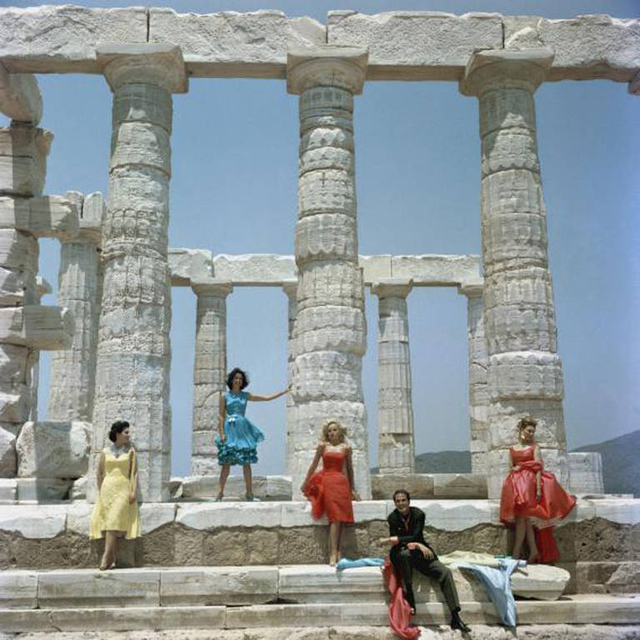 Slim Aarons, 'Dimitris Kritsas', 1967, IFAC Arts