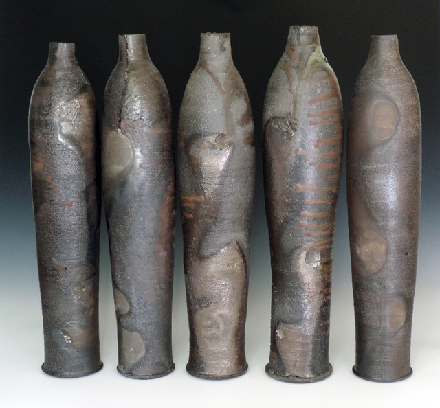 , 'WOOD FIRED BOTTLES,' 2015, Traver Gallery
