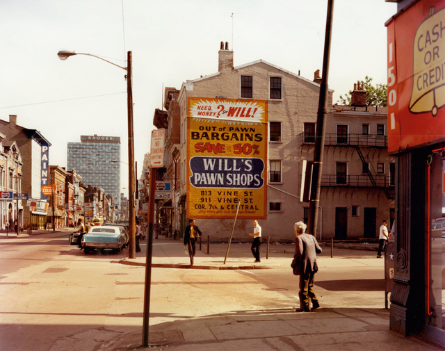 , 'West 15th Street and Vine Street, Cincinnati, Ohio, May 15,' 1974, Edwynn Houk Gallery
