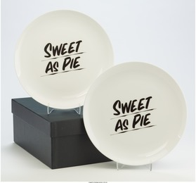 Sweet as Pie (four plates)