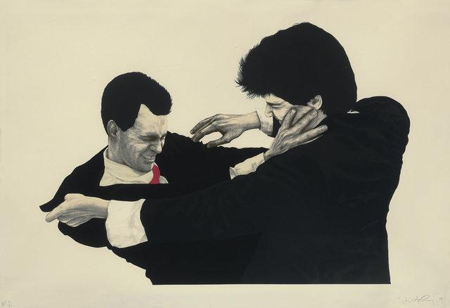 Robert Longo, 'Frank & Glenn from Men in the Cities', 1991, Fine Art Mia