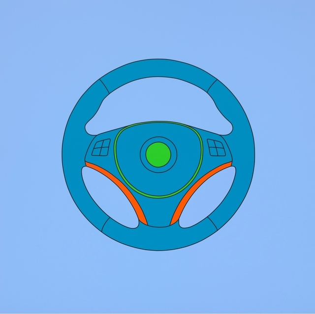 , 'Untitled (steering wheel),' 2014, Gagosian