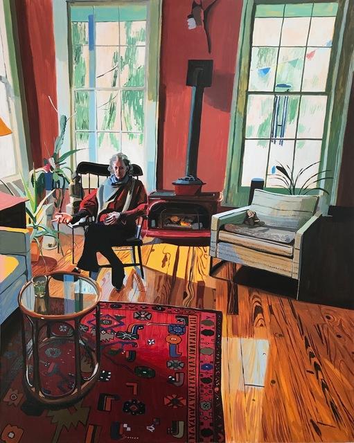 Chelsea Gibson, 'Kaima's Living Room', 2019, Lyons Wier Gallery