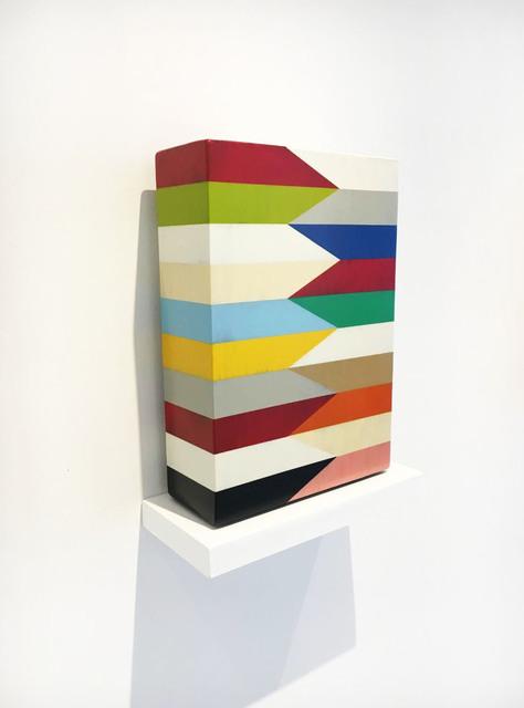 Pard Morrison, 'Plow', 2018, Sculpture, Fired pigment on aluminum, Galerie Robertson Arès