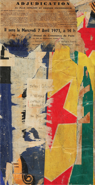 , 'Rue de l'Atlas,' 1971, Modernism Inc.