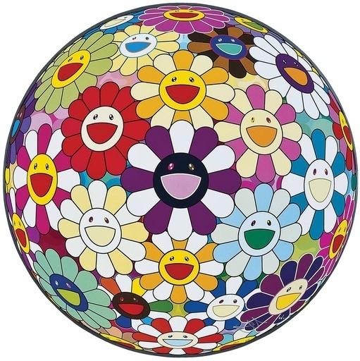 Takashi Murakami, 'Flower Ball (3D) Sexual Violet No. 1', 2013, Vogtle Contemporary