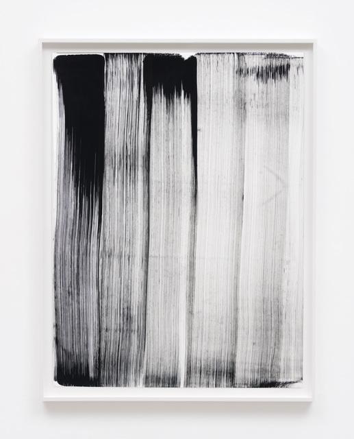 , 'Replacement Ink for Epson Printers (Matte Black on Full Sheet 324301) on Hahnemühle Photo Matt Fibre,' 2017, M+B