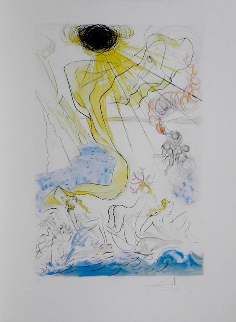 Salvador Dalí, 'Hommage a Albrecht Durer Triomphe de Venus', 1971, Fine Art Acquisitions