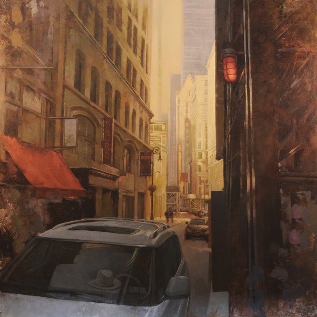 ", '""Morning Light in Lower Manhattan"",' 2018, Bonner David Galleries"