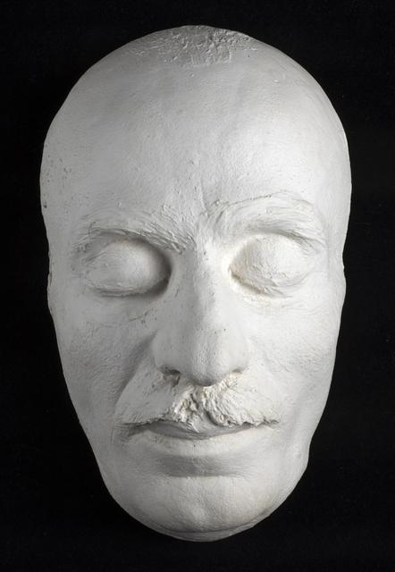 , 'Máscara mortuoria de Gibran Kahlil Gibran,' 1931, Museo Soumaya