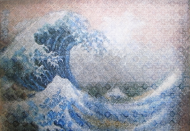 , 'About The Great Wave off Kanagawa,' 2015, Double Square Gallery