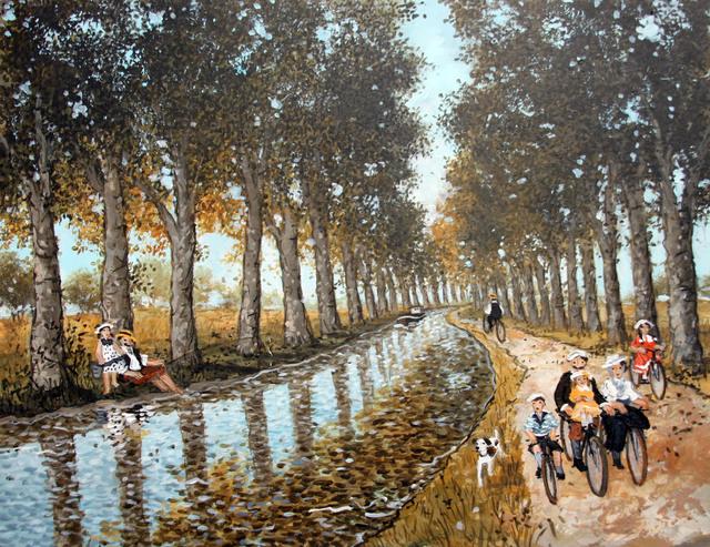 , 'Canal du midi,' , Hugo Galerie