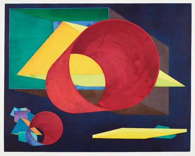 Al Held, 'Russell's Way', 1989, Phillips