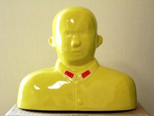 Shen Jingdong, 'Hero, Lemon Yellow Bareheaded', 2007, Tanya Baxter Contemporary