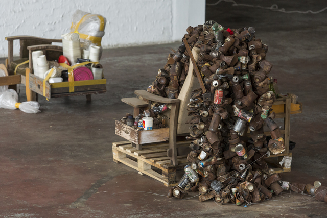 , 'Lay-Bye and Lay Back,' 2015, Museum of African Design (MOAD)