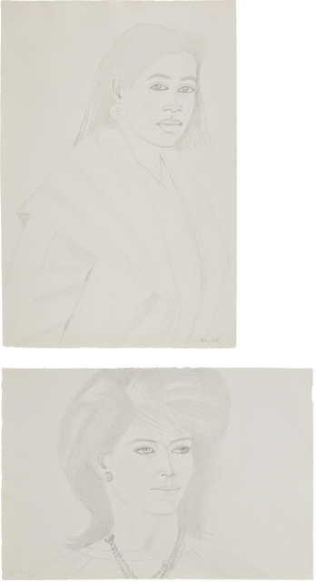 Alex Katz, 'Two works: (i) Ann; (ii) Croile', Phillips